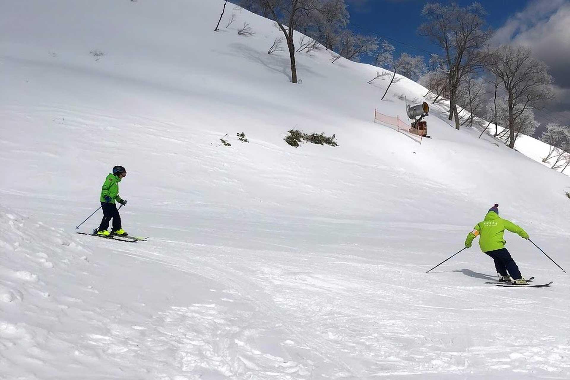 スキー ジュニアレッスン